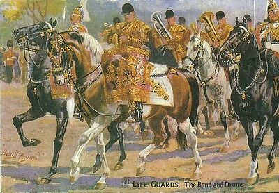 1St Life Guards The Band And Drums Formed In 1922 C1970 Harry Payne Artist #1