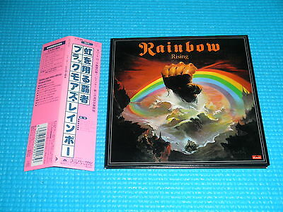 RAINBOW Mini LP CD Rising 2001 OOP Japan UICY-9191 OBI Ritchie Blackmore