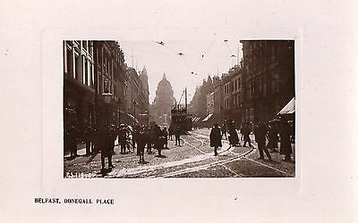 BELFAST DONEGALL PLACE IRELAND RP POSTCARD by RAPID PHOTO PRINTING Co. PS.119-3