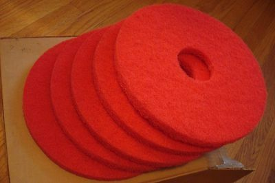 """13"""" American Chemical & Equipment Co.,Spray Buffing Floor Pads,10 Pads Total"""