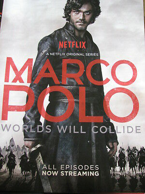 Marco Polo Worlds will Collide  Lorenzo Richelmy,  Netflix  pre Emmy  Ad