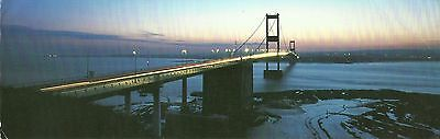 Wales From The Severn Bridge Early Evening View C1970 Photo By Patricia Aithie