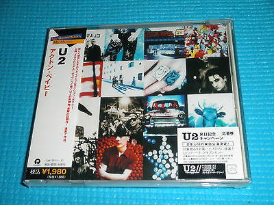 U2 Achtung Baby w/Special Booklet, Thick Jewel Case 2006 CD Japan NEW OBI