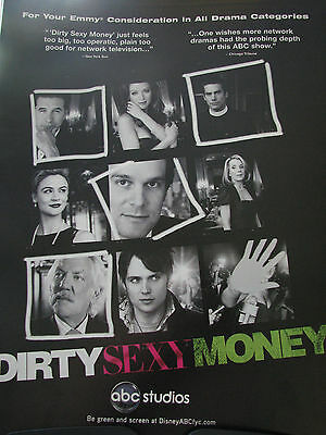 Dirty Sexy Money Peter Krause William Baldwin Donald Sutherland  EMMY AD  abb