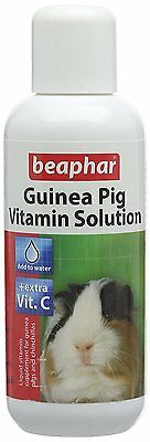 Beaphar Multi Vitamin Solution for Guinea Pigs, 100 ml