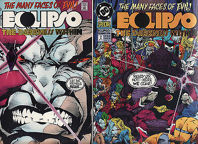 Dc Annual 1992 Eclipso Darkness Within The Many Faces Of Evil Issues 1 And 2