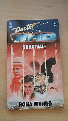 Doctor Who - Survival by Rona Munro (Paperback, 1990)