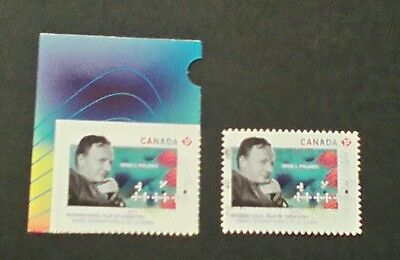 Canada 2011 year of chemistry 1 mint 1 used