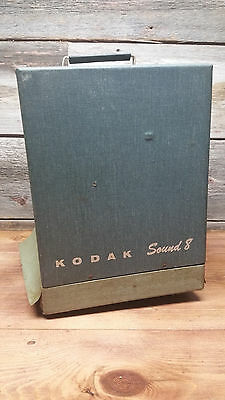 Kodak Sound 8 Movie / Film Projector for parts NOT WORKING