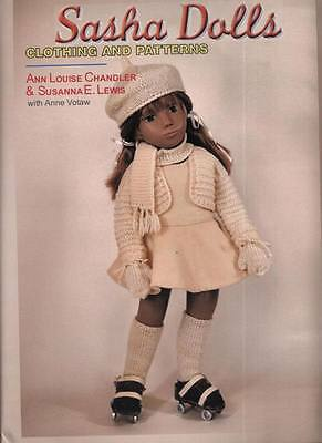 Sasha Dolls Clothing & Patterns NEW book knitting, sewing, embroidery, smock