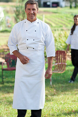 Uncommon Threads 0975-25 3/4 Epic Sleeves Chef Shirt in White