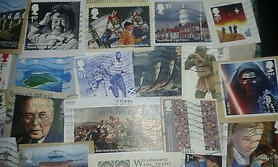 GB Commemorative stamps +HVs. Upto 2016. Low duplicate British Collection, Mix B