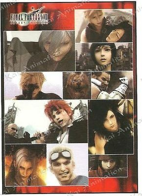 Final Fantasy VII Advent Children Collage Wall Scroll ~ Brand New