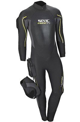 Seac 'MasterDry' Male 7mm Wetsuit xxlarge