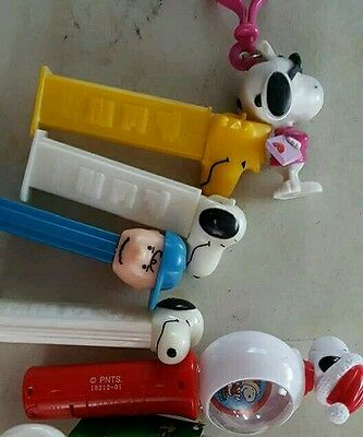 Peanuts snoopy pez dispenser & more
