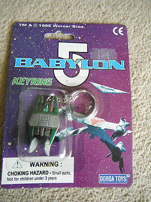 Babylon 5 Narn Heavy Fighter Keychain