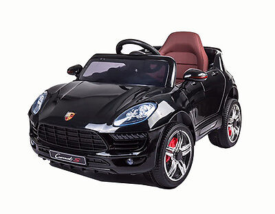 Brand New Kids Ride-On Toy Car Battery/remote Operated Black Usb Music Warranty