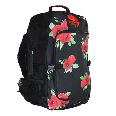 NEW Wild Poppies 45L Carry-on Travel Pack Bag Luggage