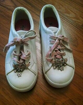 Nice girls size 12M leather keds shoes!