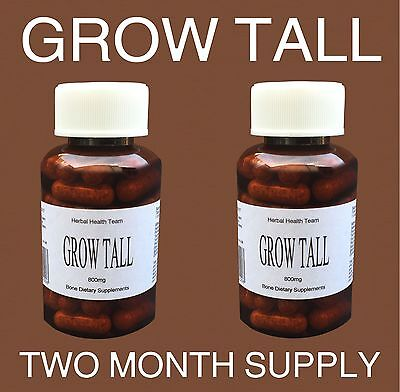 Gain Between 1 - 6 Inches In Height..YOU CAN BE TALLER SAFELY!..2 Month course.