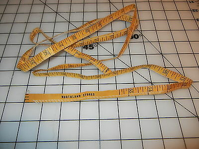 Northland Stores vintage Measuring Advertising Tape