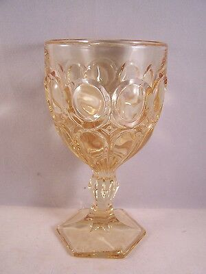 Fostoria, Moonstone, Yellow, Wine Glass
