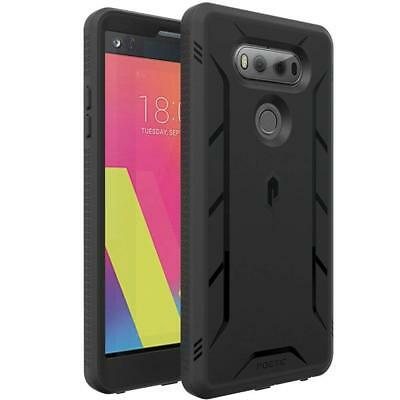 POETIC [Revolution] Shockproof TPU Case w/ Built-In Screen Protector for LG V20