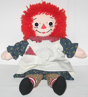 "Vintage 1996 Commemorative Edition 12"" Raggedy Ann  Doll #70110  Made By Hasbro"