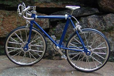 Miniature Blue Racing Bicycle 1/10 Scale