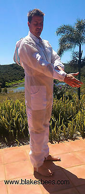 Ventilated Beekeeping 3 Layer Ultra Breeze Mesh Overalls Cool Bee Hive Full Suit