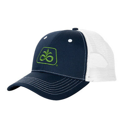 Pioneer Seed Hat Navy Blue with White mesh cap Corn Soybean NEW