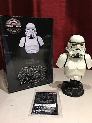 Star Wars *LIMITED EDITION* StormTrooper Classic Bust Gentle Giant 3547/5000