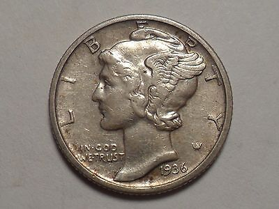 1936-D  Nice 90% Silver Better Date Winged Liberty Head Mercury Dime!!!!