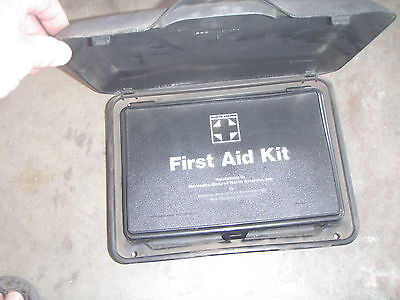 Vintage Mercedes Rear First Aid Kit And Box