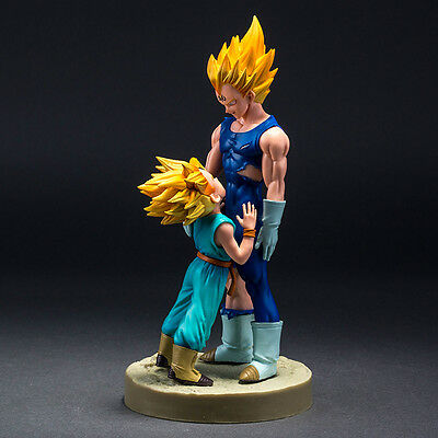 Dragonball Z Vegeta & Trunks Model Farewell Super Saiyan PVC Action Figures Toy