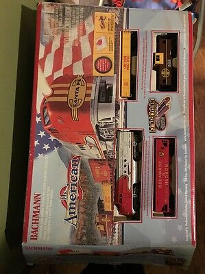 Bachman The American Santa Fe Train Set