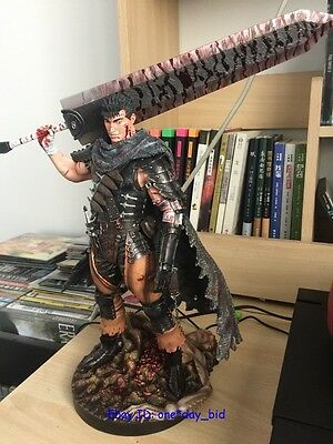 New Berserk Guts Armour ver. Figure statue Resin Collector'S Edition Gecco 12""