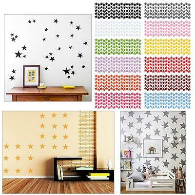 10/20/90pcs Star Wall Sticker For Kids Room Decor Removable Waterproof Creative