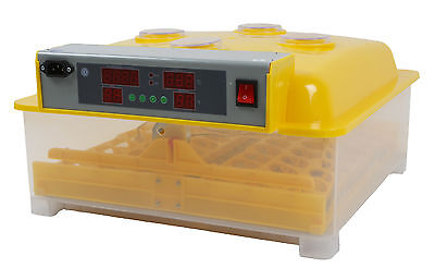 48 Egg Incubator Automatic Digital LED Turning Chicken Duck Poultry Eggs Hatch P
