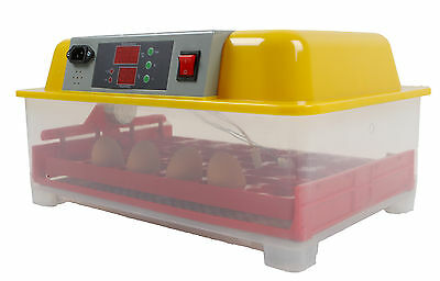 24 Egg Incubator Automatic Digital LED Turning Chicken Duck Poultry Eggs Hatch P