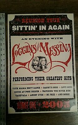Loggins and Messina renuion tour poster 2005