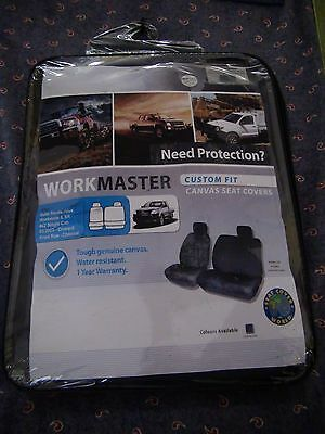Toyota Hilux workmate 4x2 2005+ Genuine Canvas front only seat covers workmaster