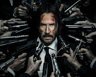 John Wick Chapter 2 Keanu Reeves Signed Photo Autograph Reprint