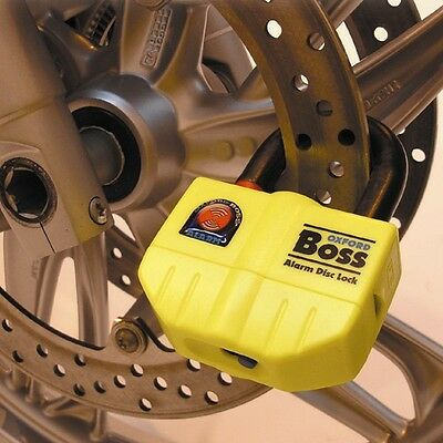 Oxford Boss Alarm Ultra Strong Alarm Lock for Motorcycle Bike