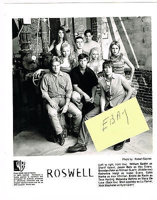 Roswell Tv Photo New! 2000 Featuring The Cast K Heigel Sadler Aliens