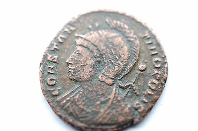 The ancient Roman coin Valens
