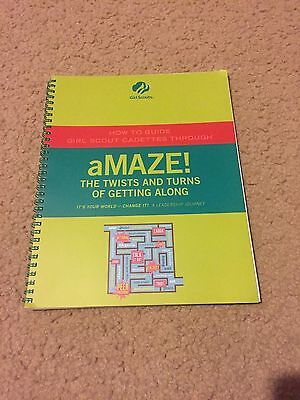 NEW Girl Scout Cadette aMAZE Journey – Adult Guide
