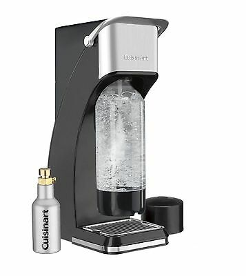 New Cuisinart Sms-201Bk Sparkling Beverage/soda Maker System (Black) Retail $99.