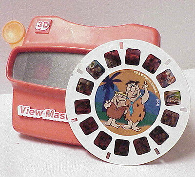 View Master 3D With One Hanna-Barbera The Flintstones Film View For View-Master