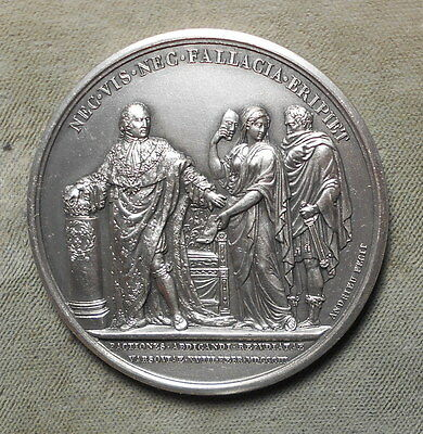 France: Louis XVIII Neither Force Nor A Fallacy Rescue Paris Mint Modern Strike